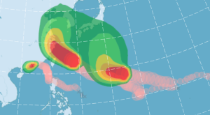 Typhoon Chan-Hom and Nangka Image borrowed from http://www.cwb.gov.tw/V7e/prevent/typhoon/ty.htm?